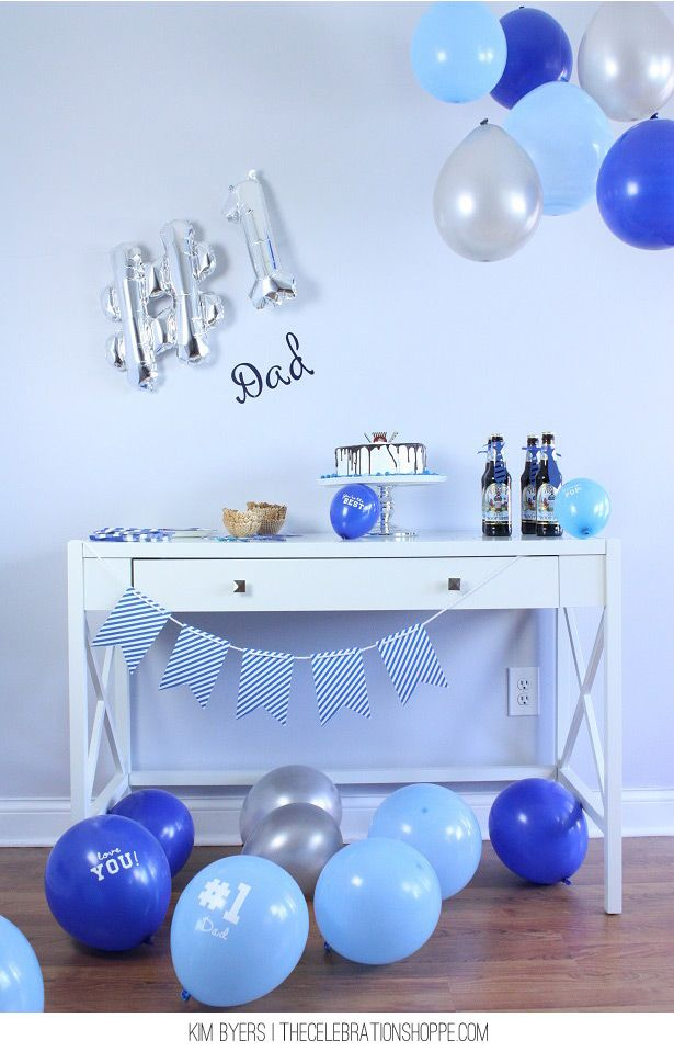 Father's Day Celebration Ideas | Kim Byers, theCelebrationShoppe.com