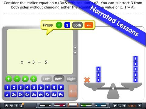 Solving Equations Math App