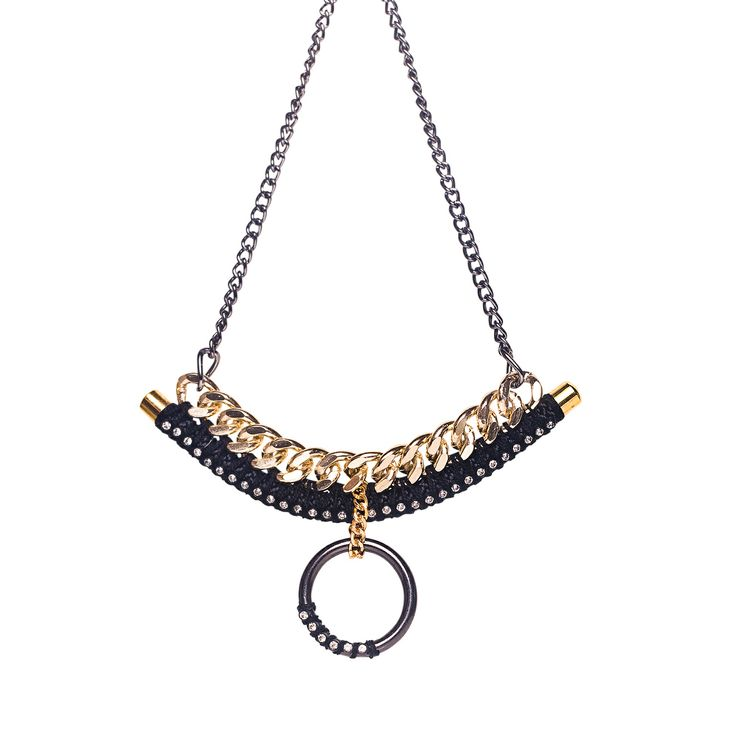 Statement necklace. Ancient world meets Industrial revolution with a contemporary twist. www.labordeshop.com