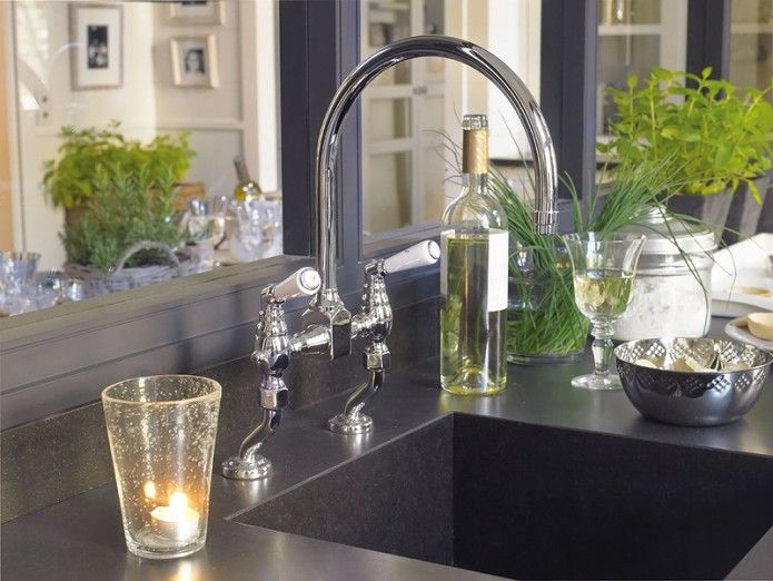 Classic Kitchen Faucet In My Kitchen Gladly Pinterest