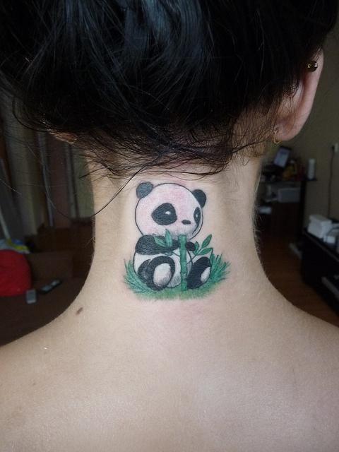 tatuajes de osos panda 9