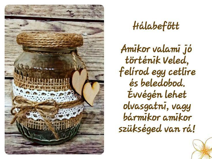 Hálabefőtt Kézműves termék Handmade