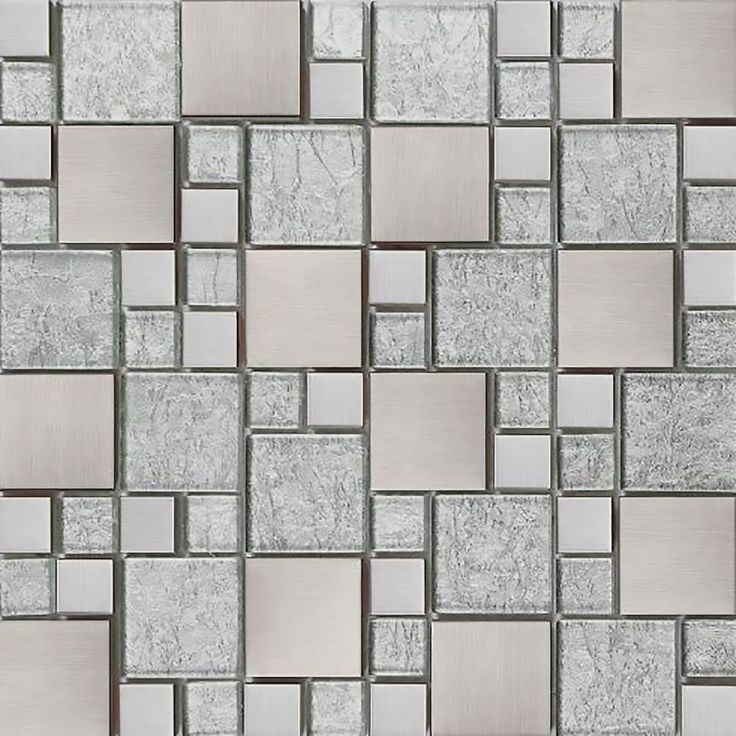Silver Tile stickers Transfers KITCHEN BATHROOM TILES Marble Glass Effect TP71 | eBay