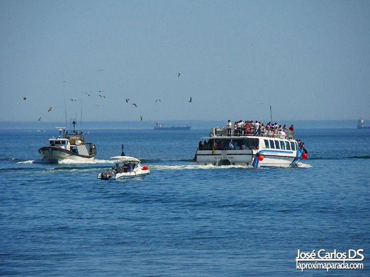 Barcos de recreo en Punta Umbría