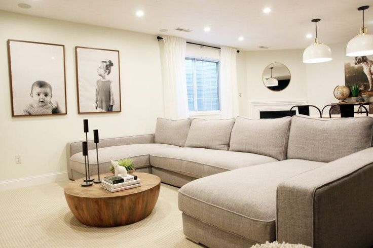 U shaped sofas for the win. The Next Trend in Sofas is a Game Changer on Netflix Nights