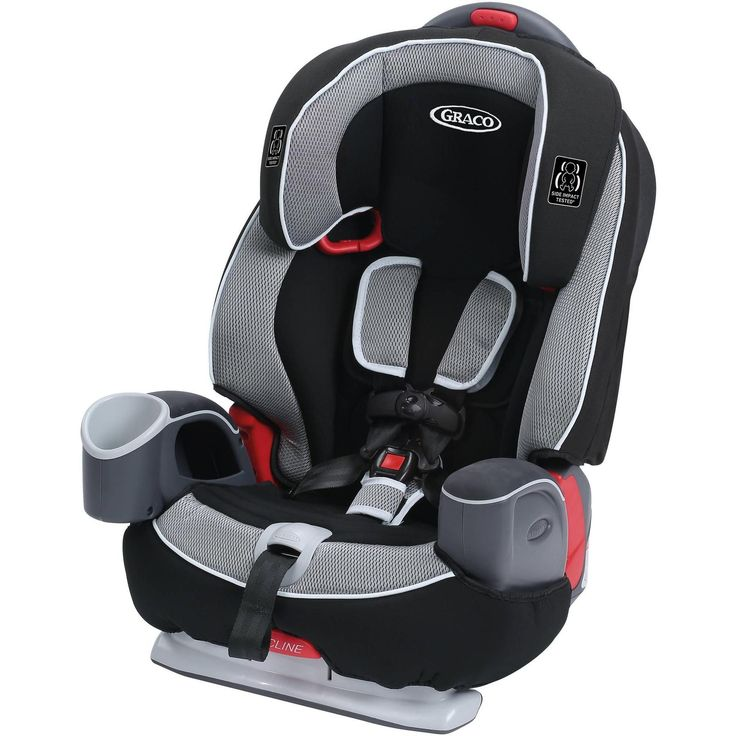 Graco Nautilus 65 3 in 1 Multi-use Harness Booster Car Seat In Track - Booster to 80lbs