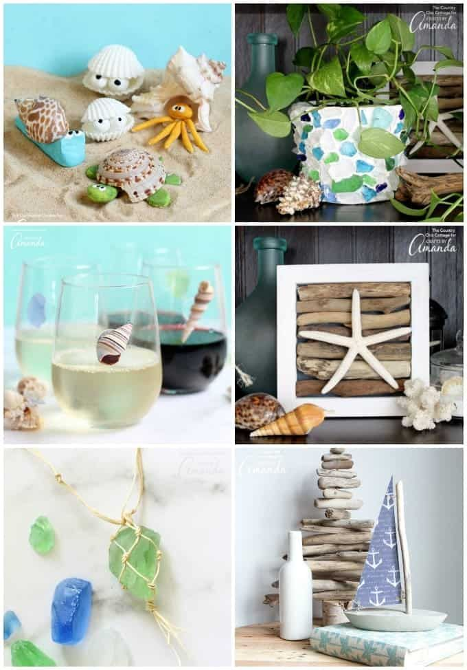 Beach Craft Ideas 35 Beach Crafts For Adults And Kids With