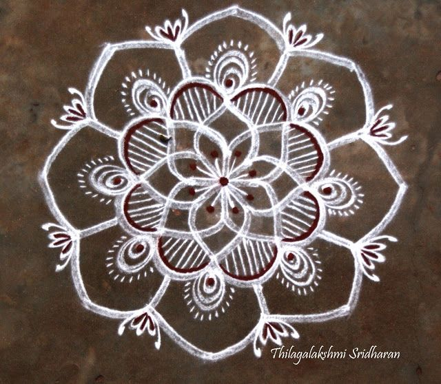 17 best images about freehand kolam on pinterest posts for Apartment kolam design