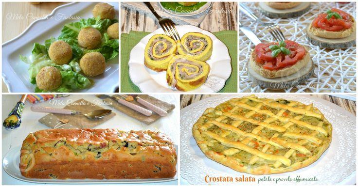Ricette salate facili e sfiziose, perfette per pic-nic buffet e aperitivi ma anche per festeggiare Pasqua o Pasquetta ormai alle porte