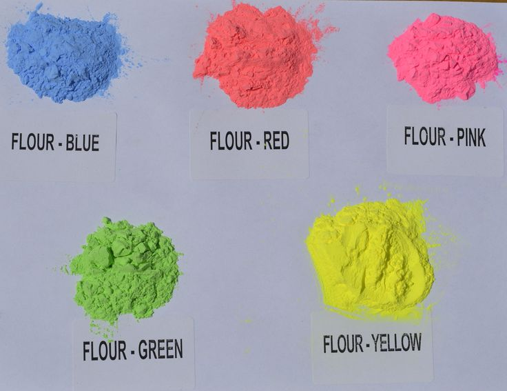 Holi Color Powders FLUOR!