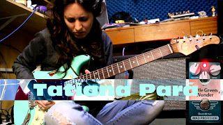 Tatiana Pará: Mad Professor Little Green Wonder (part2)   Recorded with Mad Professor Little Green Wonder Xotic XSC-1 Stratocaster Fender Hot Rod Deluxe amp and SM57 Shure mic. Effects added on Sonar software. http://tatianapara.com/ http://ift.tt/2ejv7HR http://ift.tt/2dprjOW https://twitter.com/tatianapara http://ift.tt/2ejwSo4 http://ift.tt/2dpqDt4 Tatiana Pará & Mad Professor Little Green Wonder (part2) Tatiana Pará