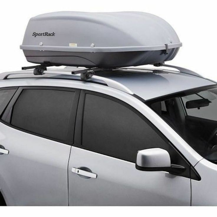 New Xl Roof Mount Cargo Box Storage Car Roof Crossbar Auto