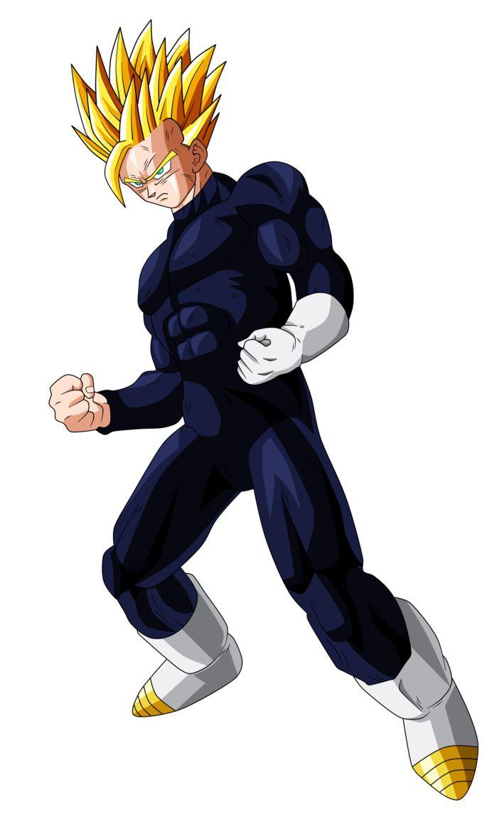 Gohan Super Saiyan 2 (adult) by OriginalSuperSaiyan on ... Dragon Ball Z Characters Goku Drawing