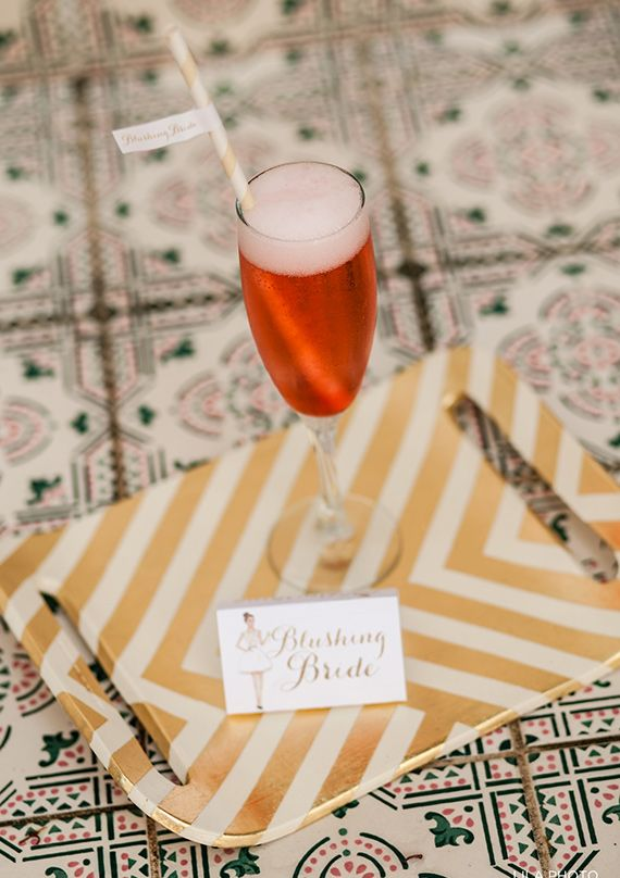 Pink and gold bridal shower | Photo by LILA PHOTO | Read more - http://www.100layercake.com/blog/?p=66885