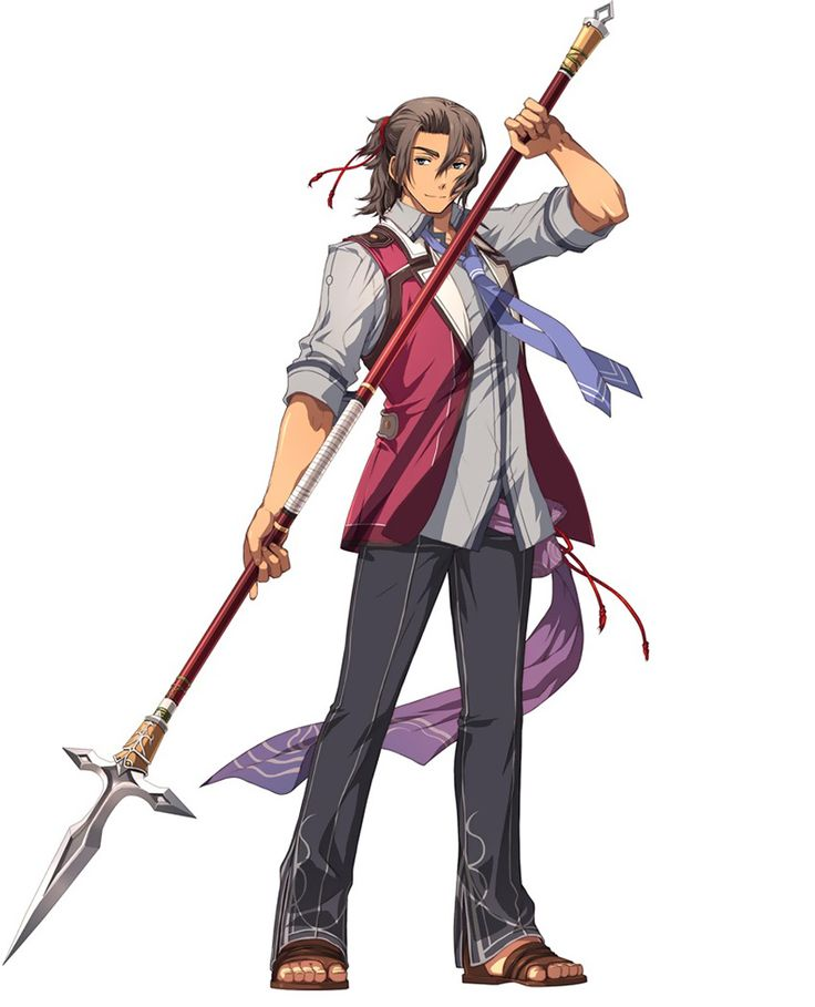 Gaius Worzel from The Legend of Heroes: Trails in the Flash