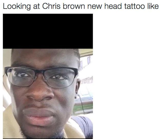 Chris Brown tattoo reactions