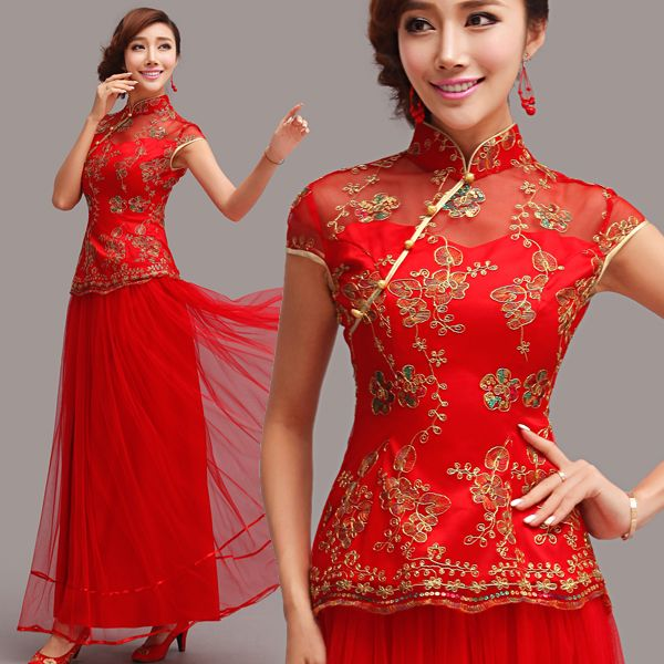 87 best images about qipao / cheongsam / chinese wedding dress on ...