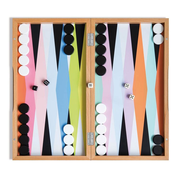 Wooden Backgammon Game Remember Teen Children- A large selection of Toys and Hobbies on Smallable, the Family Concept Store - More than 600 brands.