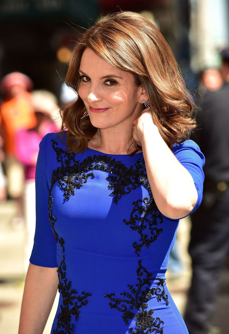 Tina Fey Stripped Down to Her Spanx Last Night on Letterman   - MarieClaire.com