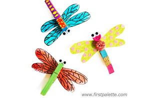 Tutorial : Clothespin Dragonfly