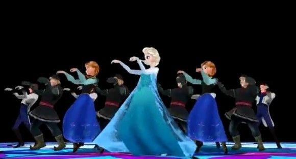 意味不明すぎて笑いがこみあげる! 『アナと雪の女王』のアナやエルサがマイケル・ジャクソンの「スリラー」を踊るムービー!!