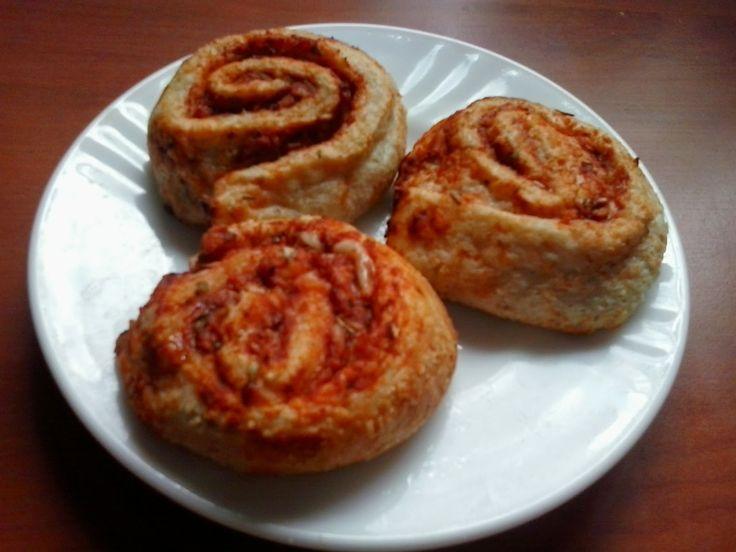 ZABirodalom: Pizzás csiga (gyors, fehérjedús)