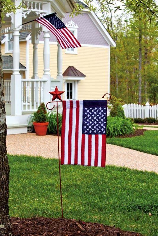 iamericas flags american artistic decorative garden flag 1400 httpwww - Decorative House Flags