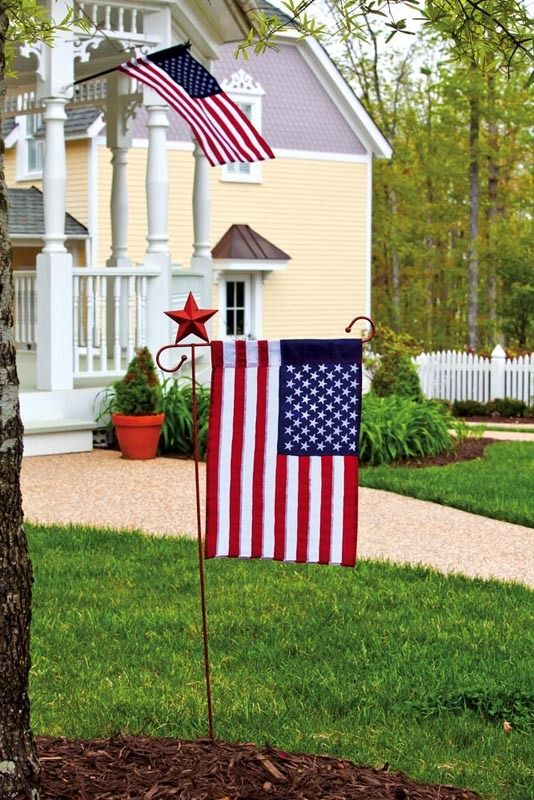 iamericas flags american artistic decorative garden flag 1400 httpwww - Decorative House Flags