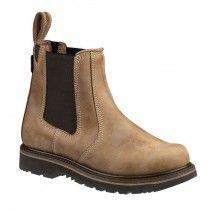 Buckler B1700 Non-Safety Dealer Boots Light Brown