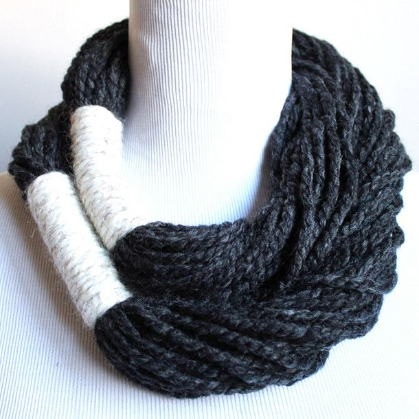 Infinity Rope Scarf