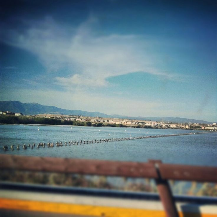 View from Saline Cagliari