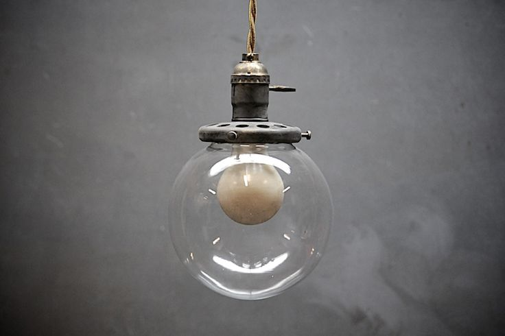 Vintage Early Century Pendant Lights : Factory 20