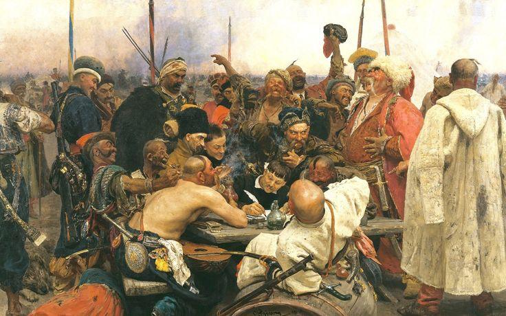 Илья Репин, «Запорожцы», 1880—1891