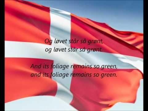 """Danish National Anthem - """"Der Er Et Yndigt Land"""" (DA/EN) - YouTube"""