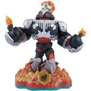 Skylanders Swap Force - Dark Blast Zone (Swappable-Rocket) [Fire] Character