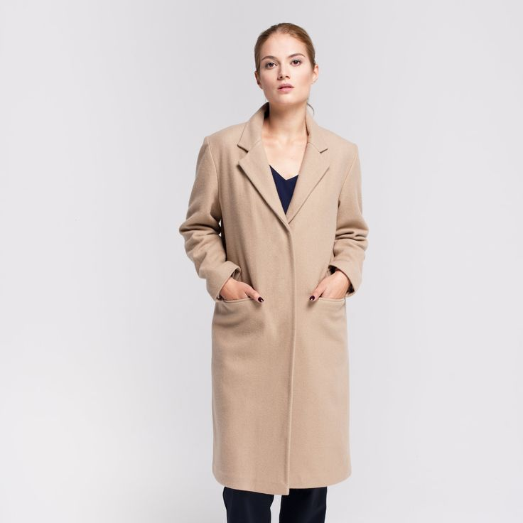 Milan Coat Beige Elementy #milan #coat #wool #beige #elementy #polishfashion #classic #minimal #simplicity #plaszcz #polskamoda #wełna #minimalizm #aw16