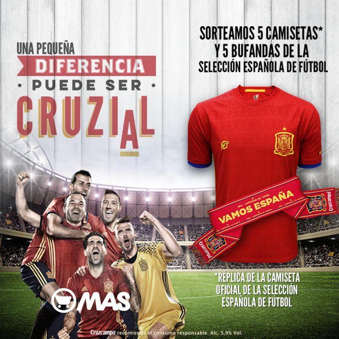 ¡Sorpresa! Empezamos la semana con un nuevo sorteo, regalamos 5 camisetas y 5 bufandas de la Selección Española! Participa aquí>>http://bit.ly/SegundoSorteoEurocopa #Eurocopa2016 #Sorteo #Promo #SelecionEspañola #LaRoja