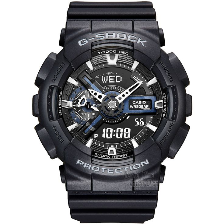 Like and Share if you want this  Casio watch Double shock anti-magnetic movement waterproof men's watch GA-110-1B     Tag a friend who would love this!     FREE Shipping Worldwide     Buy one here---> https://shoppingafter.com/products/casio-watch-double-shock-anti-magnetic-movement-waterproof-mens-watch-ga-110-1b/