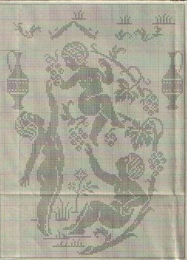 Gallery.ru / Фото #6 - Crochet Filet pour Point de Croix 1 - Mongia