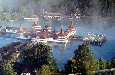 Lake Hévíz - Europe's largest natural healing thermal lake spa #Hungary