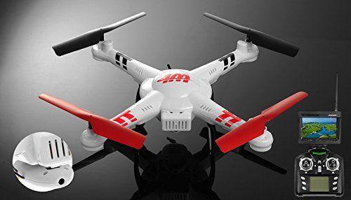 WL Toys V686G 5.8 FPV Headless Mode 4ch RC Quadcopter Drone with 2MP Camera w/4GB Memory Card WLtoys http://www.amazon.com/dp/B014X8T1UE/ref=cm_sw_r_pi_dp_EIqpwb0PXT2Z8