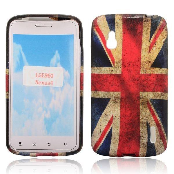 Nation Flag (UK Lippu) Google Nexus 4 Silikonisuojus - Ilmainen Toimitus! - http://lux-case.fi/nation-flag-uk-lippu-google-nexus-4-silikonisuojus.html