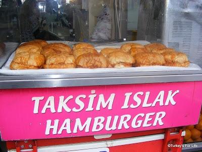 Islak Hamburger, Taksim, Istanbul. http://www.turkeysforlife.com/2012/11/fethiye-islak-hamburger-turkish-food-voyn.html
