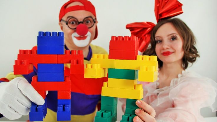 LEGO VOODOO Games - Masha and the Car Сlown!