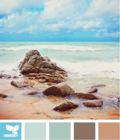 color escape: Colors Pallets, Colors Combos, Palettes Bathroom, Design Seeds, Colors Palettes, Colors Schemes, Colors Escape, Colour Escape, Colors Inspiration