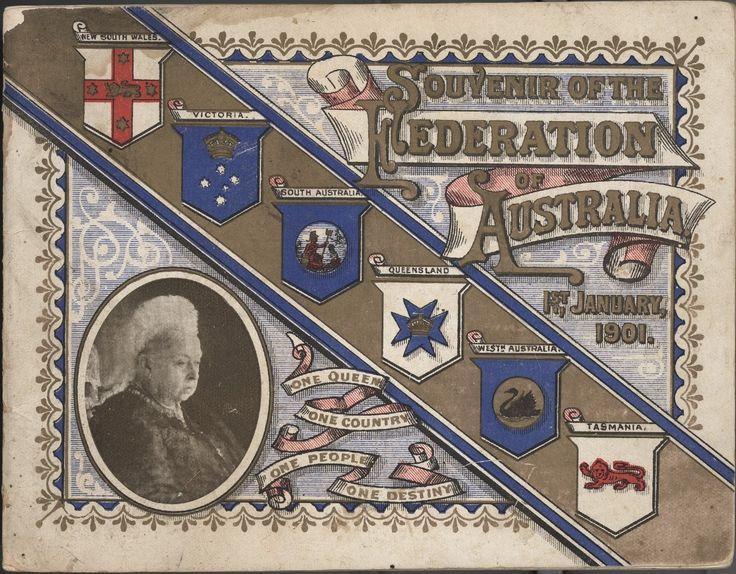 Booklet - 'Souvenir of the Federation of Australia', 1901
