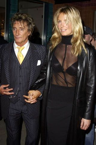 The 23 best model and musician couples of all time: Rod Stewart and Penny Lancaster
