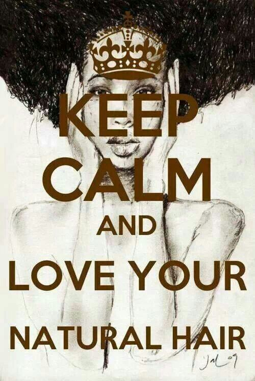 Love your natural hair!