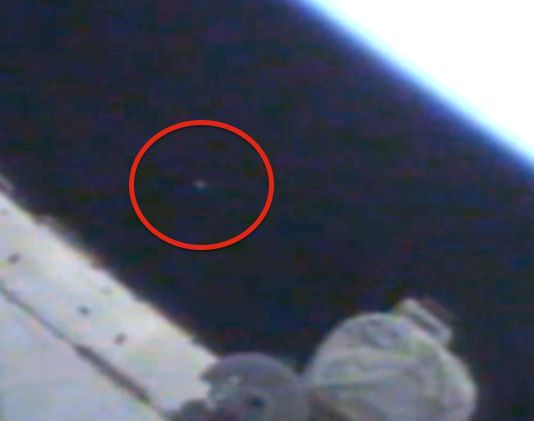UFO SIGHTINGS DAILY: UFO Caught At Space Station On Live Cam, August 4, 2014, UFO Sighting News.
