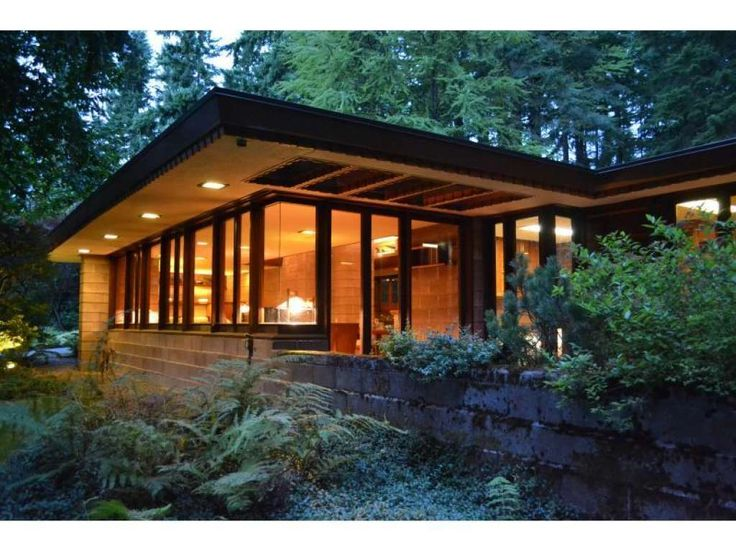 42 best my not so tiny tiny house images on pinterest for Frank lloyd wright modular homes